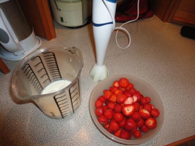 Erdbeer - Pistazien Eis - Rezept - Bild Nr. 2