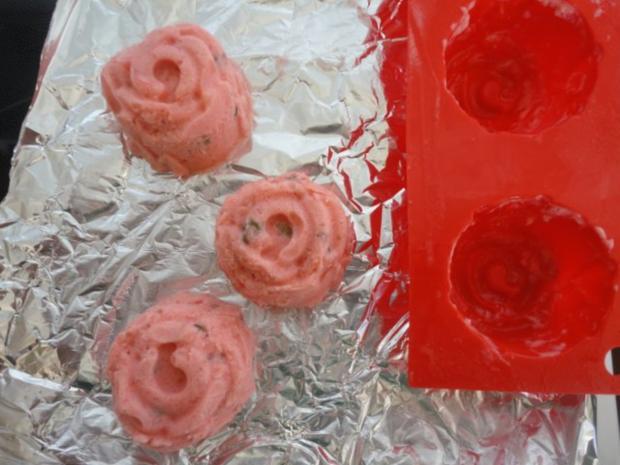 Erdbeer - Pistazien Eis - Rezept - Bild Nr. 4