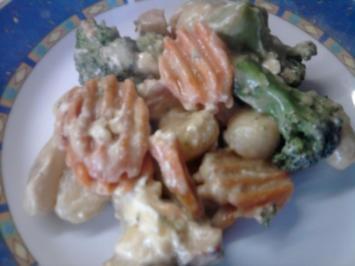 Rezept: Gnocchi-Gemüse-Pfanne