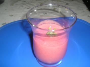 Erdbeer-Joghurt Smoothie - Rezept