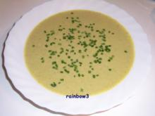 Kochen: Grüne Käsesuppe - Rezept