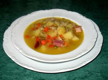 Rezept: Eintopf - Strohleim ... oder Sauerkraut unnergekocht
