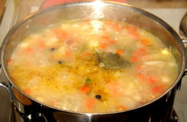 Eintopf - Strohleim ... oder Sauerkraut unnergekocht - Rezept - Bild Nr. 8
