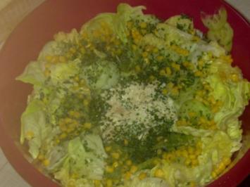 Gurken-Mais-Salat - Rezept