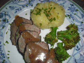 Rinderbraten - gebeizt - Rezept