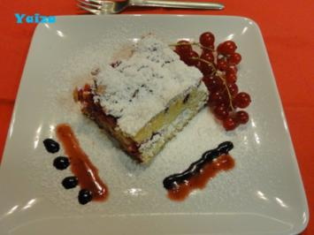 Ribisel Blechkuchen - Rezept