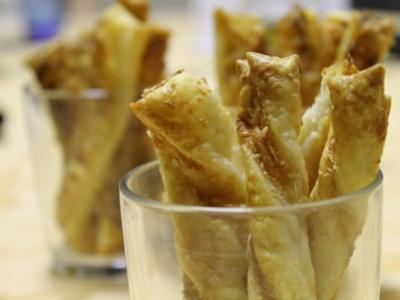 Käse-Flutes - Rezept