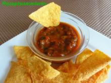 Dip:   TOMATENSALSA zu Tortillachips - Rezept