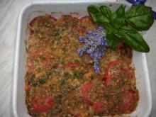 Tomaten -  Knoblauch - Gratin - Rezept