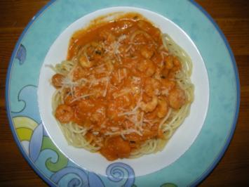 Rezept: Krabben - Spaghetti