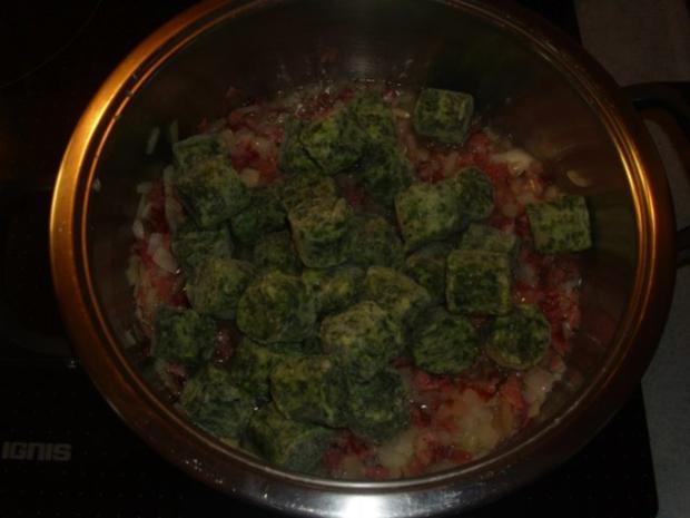 Spinat ,Kartoffeln und Spiegelei - Rezept - Bild Nr. 4