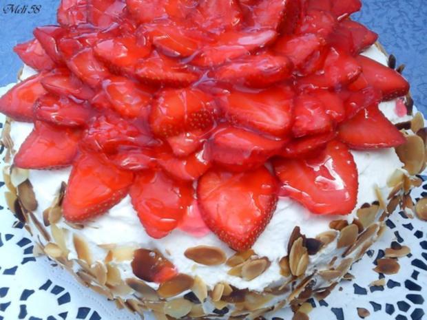 Backen: Erdbeermousse Torte mit Ricotta - Rezept - Bild Nr. 3
