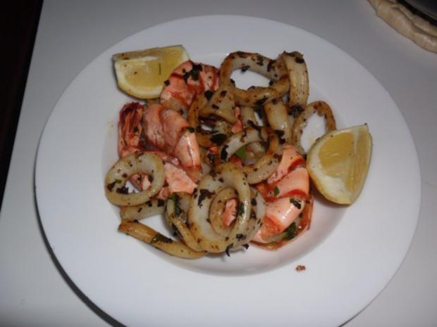 Gegrillte Meeresfrüchte - Rezept - Bild Nr. 6