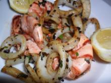 Gegrillte Meeresfrüchte - Rezept
