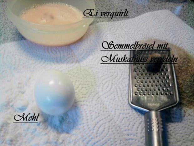 Aufgepeppte Eier in Senfsauce - Rezept - Bild Nr. 2
