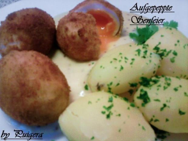Aufgepeppte Eier in Senfsauce - Rezept - Bild Nr. 6