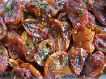 selbstgemachte getrocknete Tomaten - Rezept