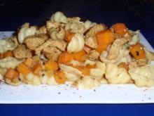 Hähnchen-Karotten-Muschelnudel-Pfanne - Rezept