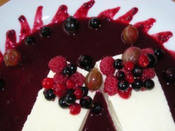 Beerenspiegel für Panna Cotta oder Vanillepudding - Rezept