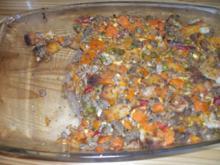 Hauptspeise: Gemüsepizza ohne Teig - Rezept