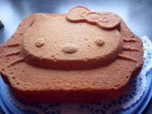 Hallo Kittykuchen zum Geburtstag meiner Enkelin   (Joghurtkuchen) - Rezept
