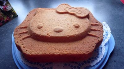 Rezept: Hallo Kittykuchen zum Geburtstag meiner Enkelin   (Joghurtkuchen)