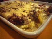 Kartoffel-Pilz-Auflauf - Rezept
