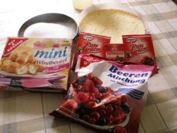 Rezept: Rote Grütze - Torte