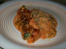 Cannelloni mit Spinathackfleischfüllung - Rezept
