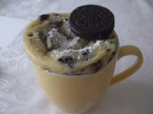 Oreo Cheese Cake in a mug - Rezept - Bild Nr. 2