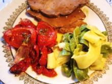 Tomatengemüse - herzhaft mediterran - Rezept