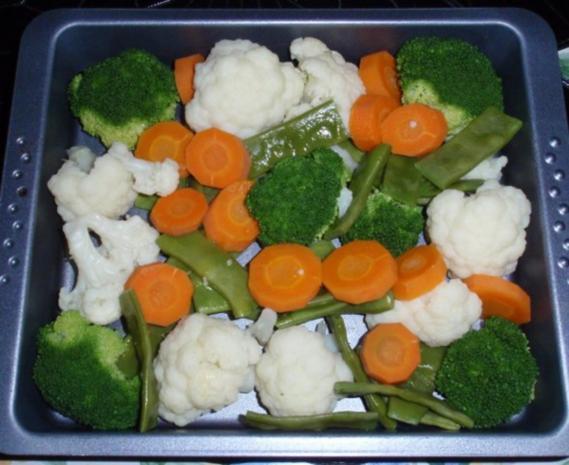 Bunter Gemüse-Auflauf mit Mozzarella überbacken - Rezept - Bild Nr. 9