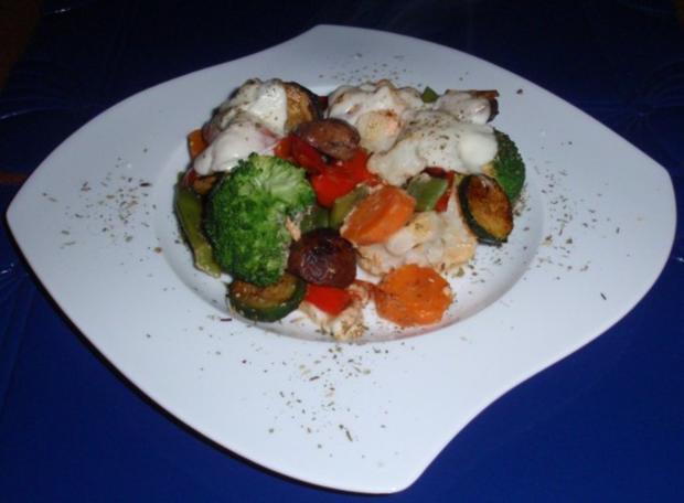 Bunter Gemüse-Auflauf mit Mozzarella überbacken - Rezept - Bild Nr. 14