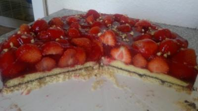 Rezept: Feine Erdbeertorte