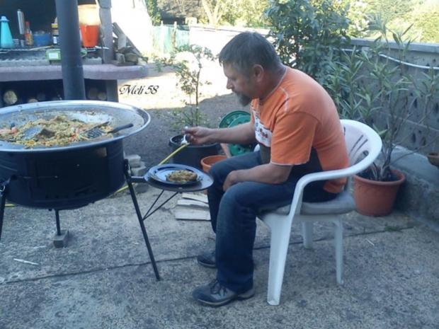 Verschiedenes: Paella....im Kotlovina-Ofen zubereitet - Rezept - Bild Nr. 4