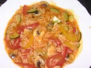 Reis-Gemüse-Topf - Rezept