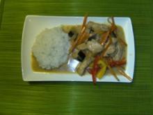 Asia Pute mit Kokosmilch - Rezept