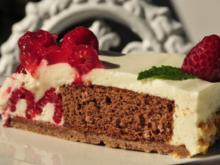 Limetten-Himbeer-Torte - Rezept