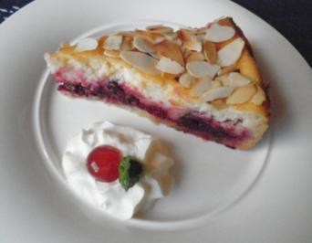 Ricotta Kirsch Kuchen - Rezept