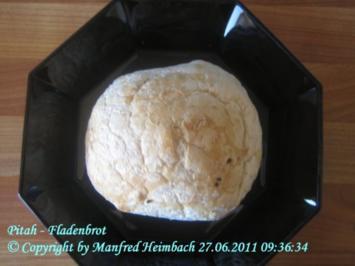Brot – Pita – Fladenbrot a'la Kosta - Rezept