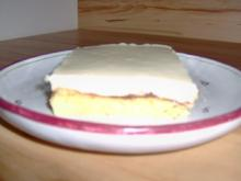 Vanillecreme Blechkuchen - Rezept - Bild Nr. 2