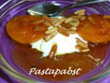 Aprikosen gebraten mit Lavendel - Rezept