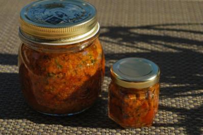 Tomaten-Pesto - Rezept