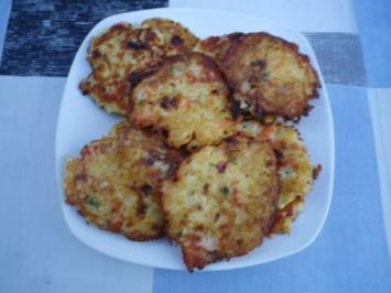 Rezept: Lachs - Kartoffel - Puffer