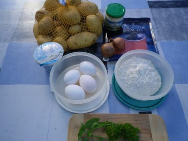 Lachs - Kartoffel - Puffer - Rezept - Bild Nr. 4