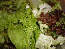 Sommerlicher Blattsalat - Rezept