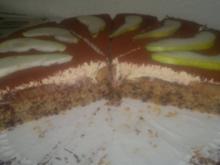 Cappuccino-Birnen-Torte - Rezept