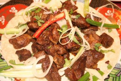 Lammspieße (Afghanische Art) - Rezept