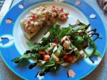 Forellentatar auf Zucchini - Rezept
