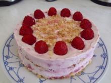 "Kuchen/Torten...MINI Knusper-Himbeer-Torte ""light"" - Rezept"